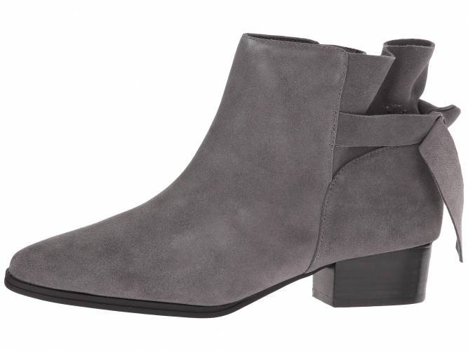 Womens gray ankle boot